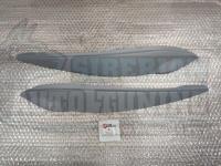 Реснички на фары Honda Jazz 2008-2013, накладки на фары