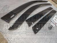 Дефлекторы окон, Ветровики Mitsubishi Outlander 2012- с креплением