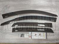 Дефлекторы окон, Ветровики Mitsubishi ASX 2010- с креплением