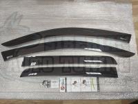 Дефлекторы окон, Ветровики Mitsubishi Outlander 2005-2012г с креплением