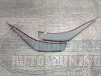 Реснички на фары Honda Stream 2000- 2004 накладки на фары