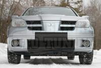 Накладка переднего бампера Mitsubishi Outlander 2005-2007