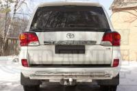 Спойлер нижний крышки багажника Toyota LC 200 2012-2015