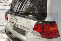 Спойлер нижний крышки багажника Wald Toyota LC 200 2012-2015
