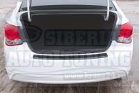 Накладка на задний бампер Chevrolet Cruze I 2012-2014