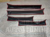 Накладки на внутренние пороги дверей Chevrolet Cruze I 2009-2014