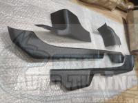 Накладки на ковролин порогов Nissan Almera 2014- кузов G15