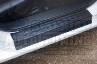 Накладки на внутренние пороги дверей Mazda 6 2012-2020 кузов GJ