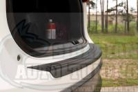 Накладка на задний бампер Mazda CX-5 2011-2015 кузов KE