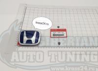 Синяя эмблема Type R H для автомобилей Honda 75701-S6M-Z01 86*70