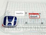 Синяя эмблема Type R H для автомобилей Honda 75700-SNW-003ZC 95*77