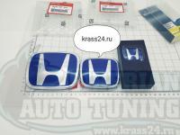 Комплект синих эмблема Type R H для автомобилей Honda Accord 8/Civic 8 4D