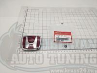 Красная эмблема Type R H для автомобилей Honda 75700-SPI-G01 73x61