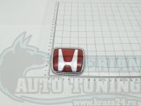 Красная эмблема H для автомобилей Honda 71x60