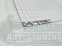 Большая эмблема i-VTEC на багажник, крыло Honda 132*17 мм