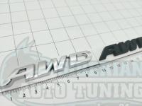 Надпись на багажник AWD для Honda 90*14 мм