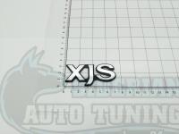 Эмблема шильдик с клеевой основой Xjs Jaguar 70х30 мм
