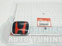 Черно-красная эмблема Type R H для автомобилей Honda 75700-SNW-003ZC 95*77