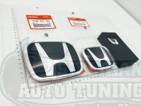 Комплект черных эмблем Type R H для автомобилей Honda Accord 7 CL/CL7/CL9