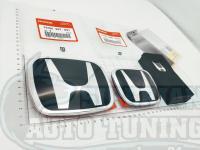 Комплект Черных эмблем Type R H для автомобилей Honda Accord 8/Civic 8 4D
