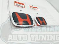 Комплект черно-красных эмблем Type R H для автомобилей Honda Accord 7 CL/CL7/CL9