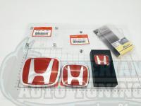 Комплект Красных эмблем Type R H для автомобилей Honda Accord 7 CL/CL7/CL9