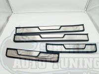 Оригинальные накладки на пороги OEM Honda CR-V 2013-2017 кузов RM1–RM4