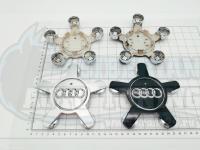 Ступичные колпачки ЦО Audi звезда 135 мм (Цена за 4шт) 4F0601165