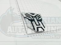 Эмблема шильдик Transformer Трансформер Автобот 100х100 мм