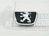 Эмблема шильдик Peugeot 206 на решетку 173х120 мм