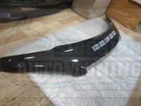 Дефлектор капота черный (спойлер, мухобойка) Honda Civic ES 2000-2005 седан