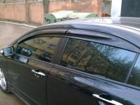 Дефлекторы окон, Ветровики для Honda Civic 8 4D 2006-2012 Mugen Style