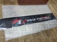 Наклейка карбон на стекло винил 130*21см F1 Race Factory козырек