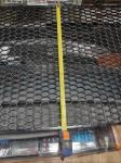 Универсальная пластиковая сетка для стайлинга Соты Style открытая 1260*600