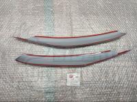 Реснички на фары Honda Fit 2001-2007г, накладки на фары