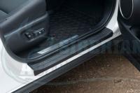 Накладки на внутренние пороги дверей Lexus NX 2014 – 2020