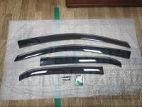 Оригинальные Дефлекторы окон, Ветровики для Toyota Corolla 2007-2012 E150