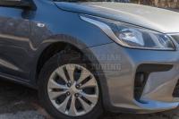 KIA Rio IV седан 2017+ Защитные накладки на колёсные арки