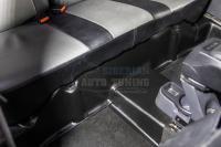 Nissan Terrano 2014-2020 Накладки на ковролин заднего ряда