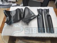 Накладки на ковролин передние Renault Sandero, Stepway II с 2014 г.в. (4 шт)