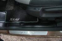 Накладки на ковролин задние Lada Xray с 2016 г .в. (2 шт)