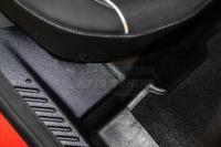Renault Arkana с 2019- н.в. Накладки на ковролин задние (2шт)