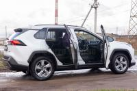 Toyota Rav4 2019-2021 Накладки на внутренние пороги дверей кузов XA50