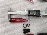 Гайки секретки конусные облегченные Rays composite nut Карандаши стальные M12*P1.5 и P1.25