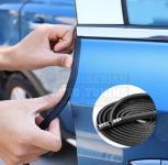Универсальный U-образный уплотнитель на кромку двери автомобильный 5м