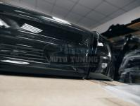 Mitsubishi Lancer X  Фонари Задние (Стопы) Audi A6 black style smoke дымчатые Galant Fortis