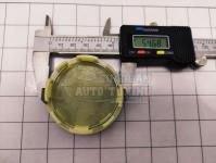 Ступичные колпачки заглушки на диски ЦО Nissan серебро 60/55/10 мм C6104C8074 (Цена за 4шт)