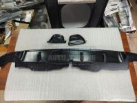 Накладка диффузор на задний бампер Honda Accord 8