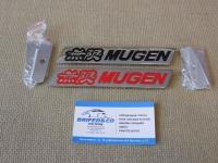 Эмблема алюминиевая для решетки радиатора Mugen для автомобилей Honda (Тип 2)