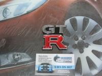 Алюминиевый Шильдик с клеевой основой GTR для автомобилей Nissan